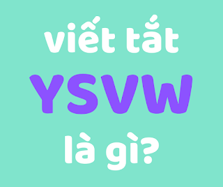 ysvw là gì