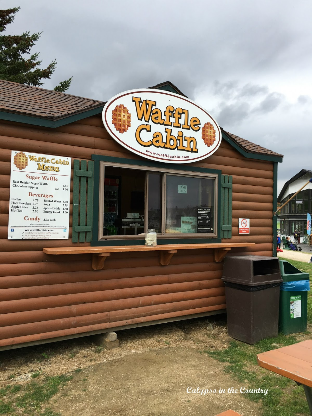 Waffle Cabin in Killington Vermont