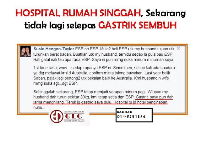 ESP Bantu Rawat Gastrik