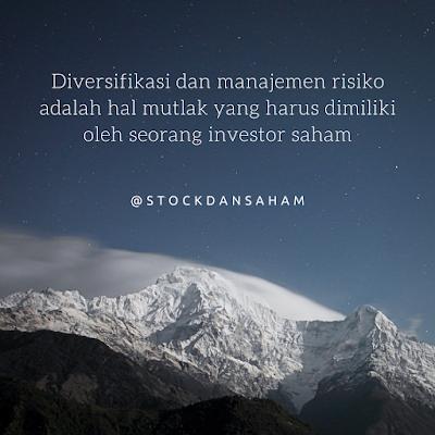 Diversifikasi dan manajemen risiko investasi saham