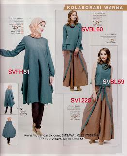 baju kerja muslimah