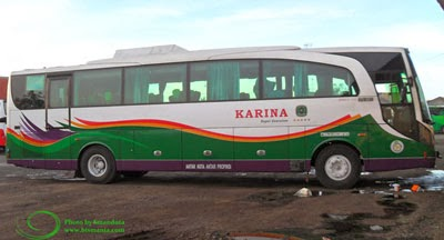 bus karina super executive