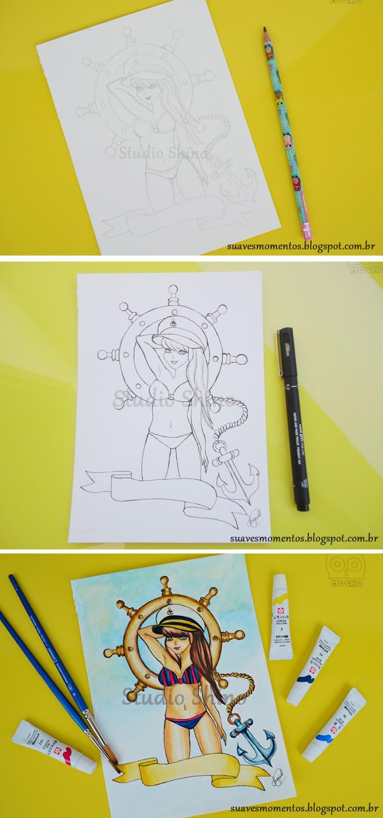 sketchbook ilustração