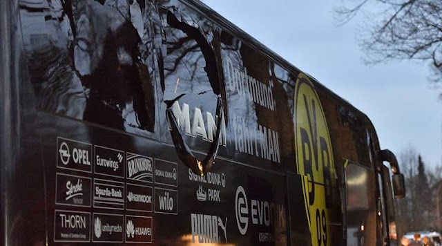 #BreakingNews:German-Russian was arrested in Germany on suspicion of bombing the bus carrying Borussia Dortmund