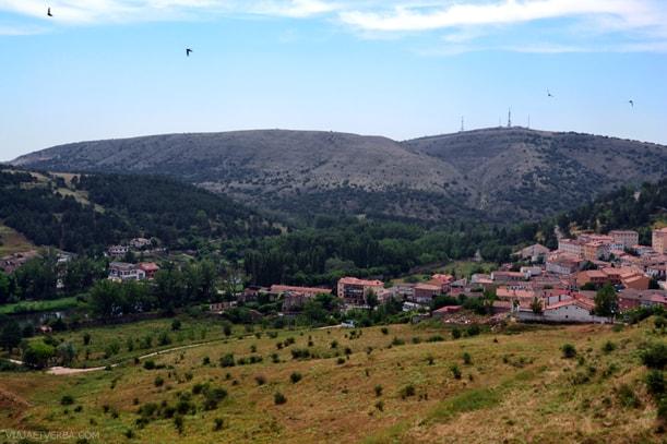 Panorámica de Soria, España. Por Viaja et verba