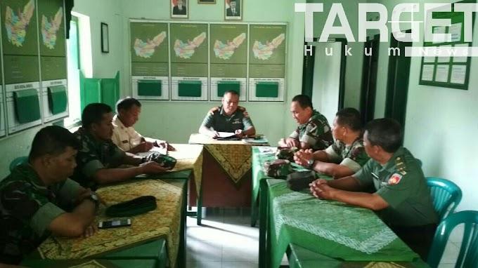 Batuud Koramil Wedarijaksa Laksanakan Apel Pagi Wujud TNI AD Dalam Keberhasilan Pertahanan Teritorial
