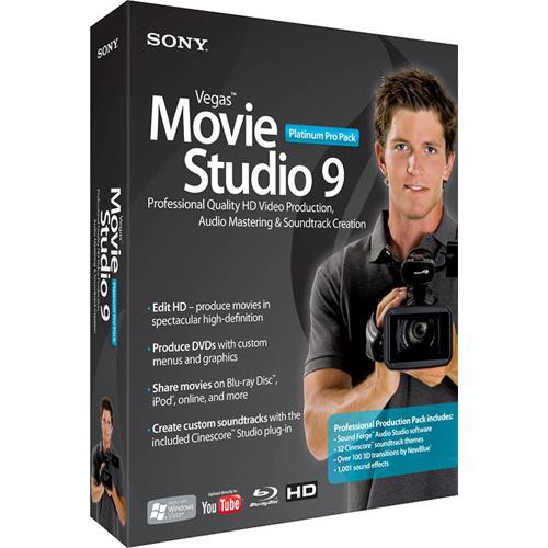 Sony Vegas Movie Studio 9 Platinum Pro Pack Free Full Version Editing Software Download For PC With Keygen