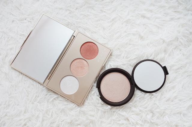 Becca Shimmering Skin Perfector Pressed in Opal Review and Swatches