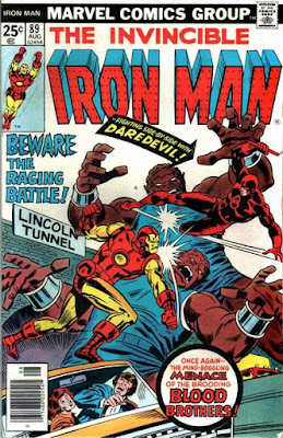 Iron Man #89, Daredevil