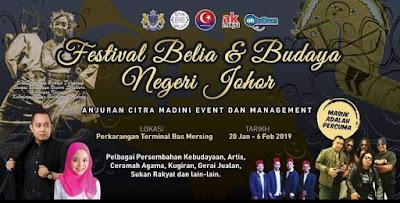 FESTIVAL BELIA & BUDAYA NEGERI JOHOR