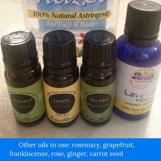 Life's a Beach: How to use essential oils with witch hazel