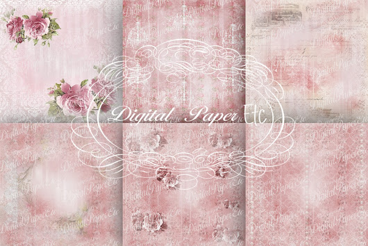 Decoupage, Digital Background Papers