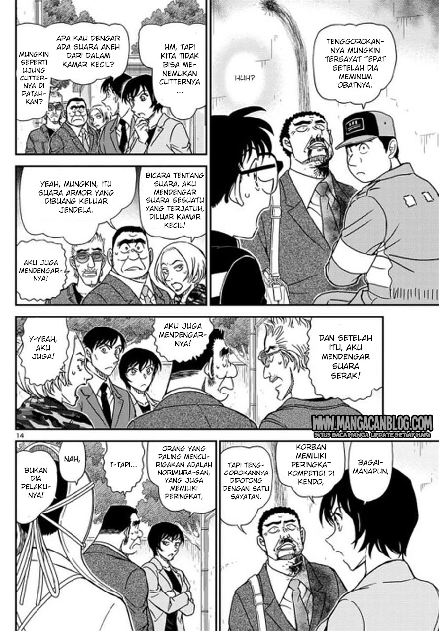 Dilarang COPAS - situs resmi www.mangacanblog.com - Komik detective conan 992 - waktumu sudah tiba 993 Indonesia detective conan 992 - waktumu sudah tiba Terbaru 14|Baca Manga Komik Indonesia|Mangacan
