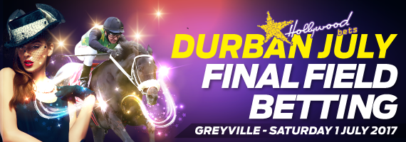 Vodacom Durban July - Final Field & Betting - Hollywoodbets - Bet Now - Horses - Horse Racing - Jockeys - Betting - Saturday 1st July 2017