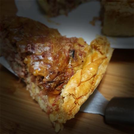 Pastel de carne #cocinadeaprovechamiento