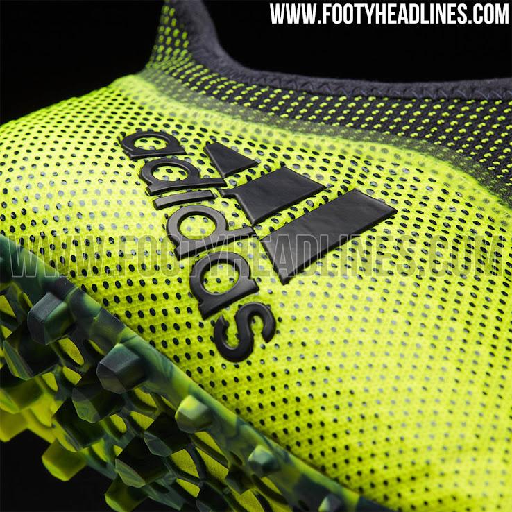 c4d6bf1d6 Laceless Adidas X Tango 17+ Purespeed Ocean Storm Pack Boots ...