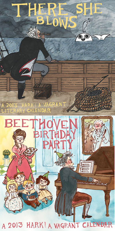 Hark! A Vagrant Calendar by Kate Beaton