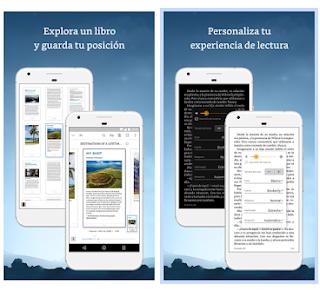 Amazon Kindle App user interface