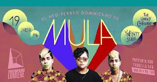 Concierto de MULA,en Bogota 2018