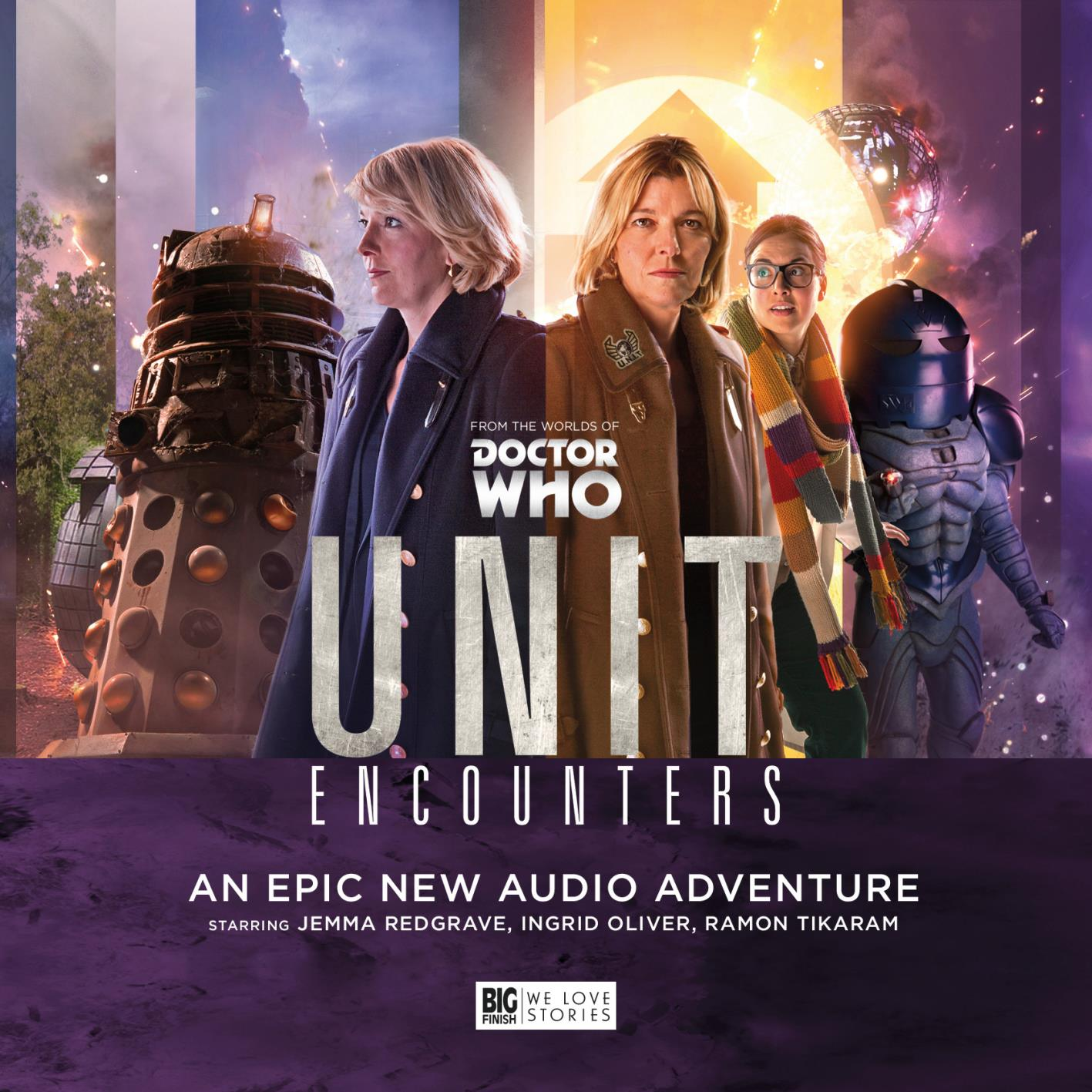 Who-Natic: Audio - UNIT Encounters - Cover Art and New Details
