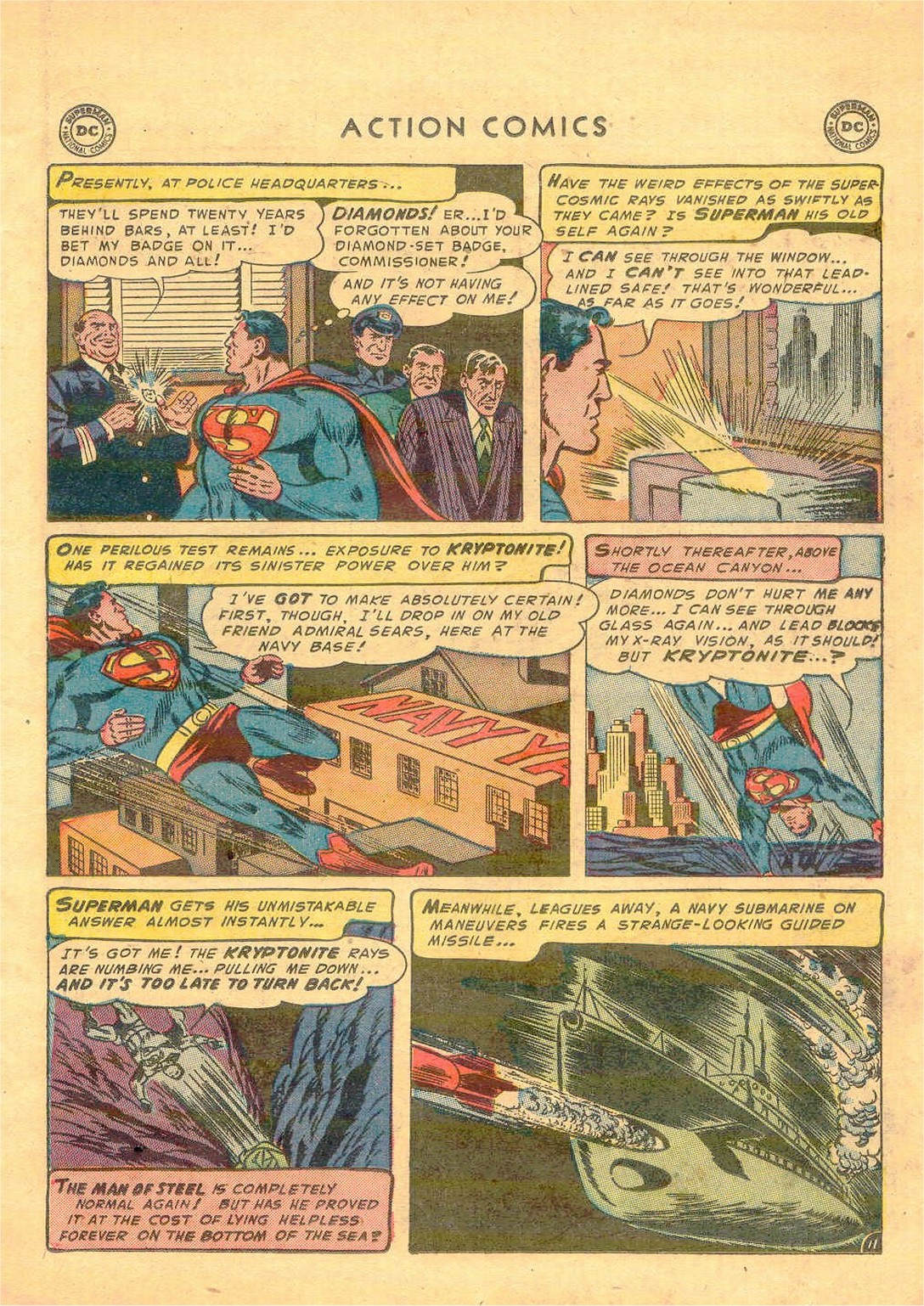 Read online Action Comics (1938) comic -  Issue #181 - 12