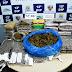 Polícia Civil prende cinco pessoas com cerca de 60 kg de drogas na zona oeste