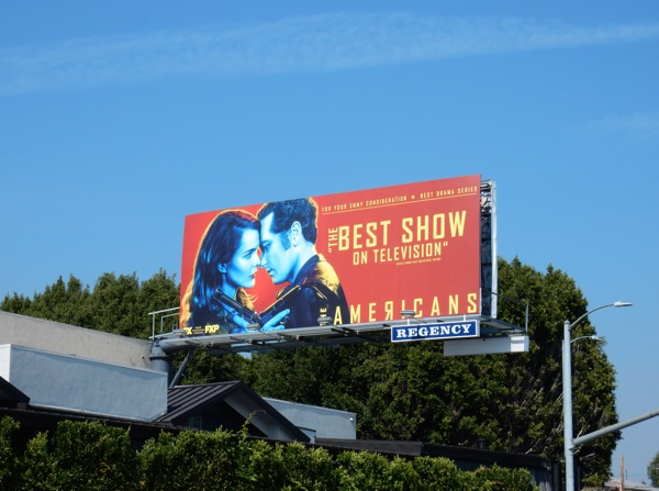 Americans season 4 Emmy consideration billboard