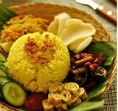 Rahasia nasi kuning gurih enak dan cara membuatnya