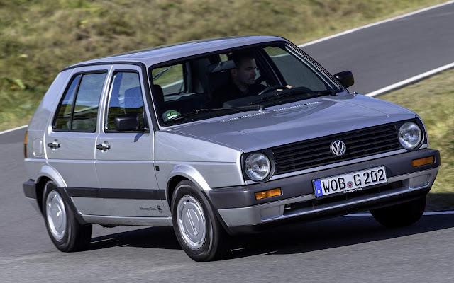 VW Golf - Geração 2