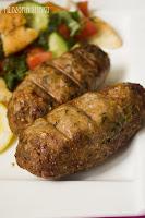 Kebab z pistacjami