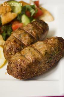 (Kebab z pistacjami
