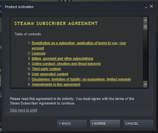 Steam Subscriber Agreement