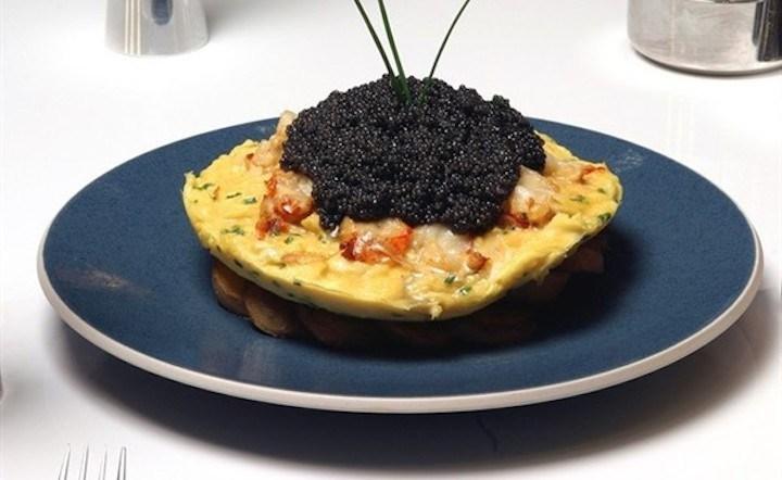 Omelet Dollar Frittata Zilion Lobster dibanderol 26 juta!