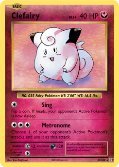 clefairy evolutions pokemon card review