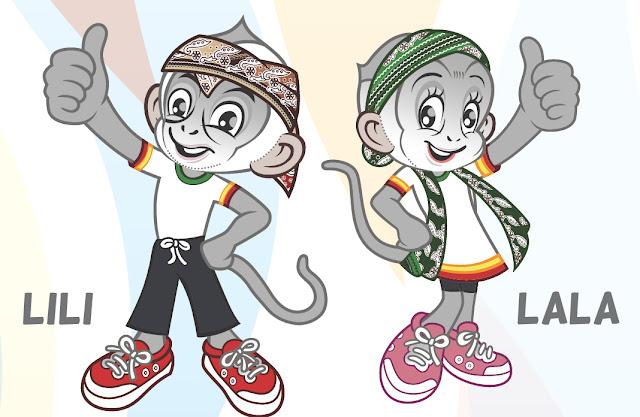 Inilah Surili (Lili dan Lala) Maskot PON XIX Jabar Tahun 2016