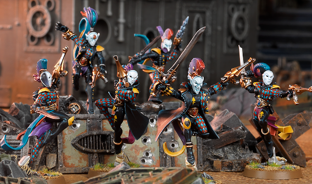 Troupe Kill Teams Arlequines