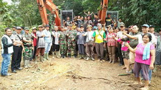 Program Cetak Sawah kerjasama TNI AD dengan Dinas Pertanian tahun 2017 kembali digulirkan.bahkan untuk tahun ini