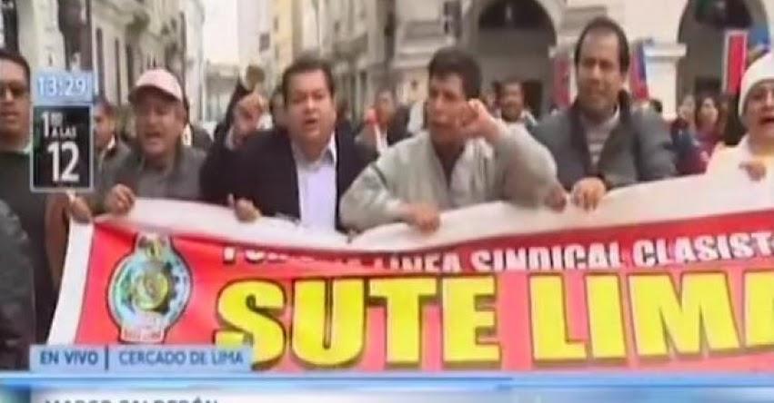 El 75% de docentes acata la huelga nacional indefinida, según Pedro Castillo