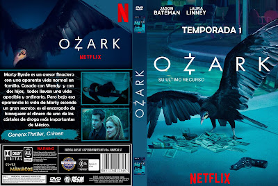 CARATULA [SERIE TV] OZARK - TEMPORADA 1 - [2018] [COVER DVD]