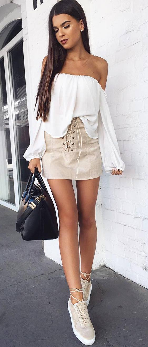 fashionable summer outfit