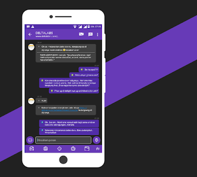 BBM NAF-Chat Series v1.0.0 Base Update Apk Terbaru