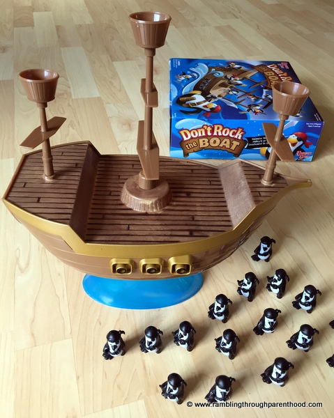 Don't Rock The Boat: The Pirate Penguins