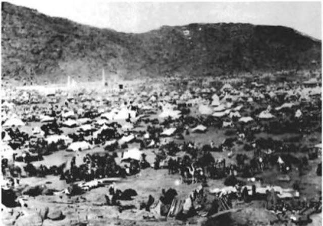 الجانب الغربي لوادي منى 1889م