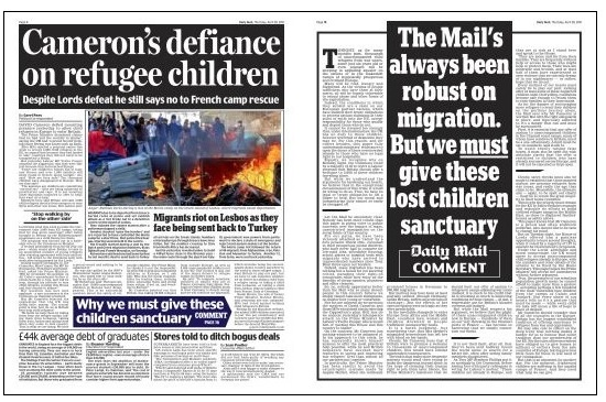 Daily Mail 28-04-16