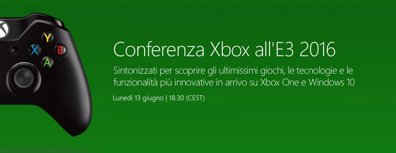 Diretta Streaming E3 2016 HTNovo