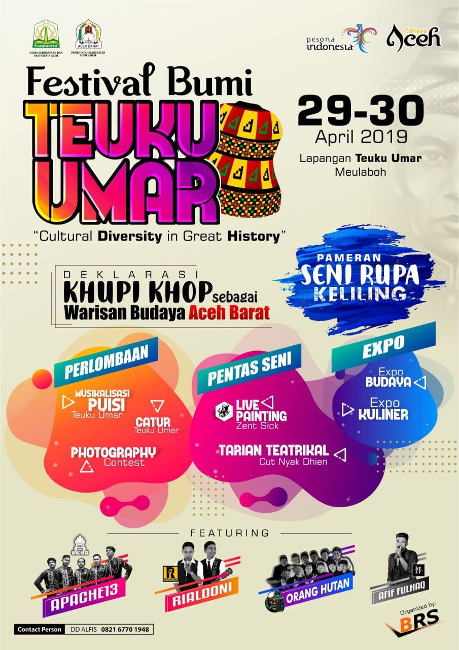 Disbudpar Aceh Bersama Brs Organizer Selenggarakan Festival