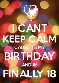 18th birthday quotes calm