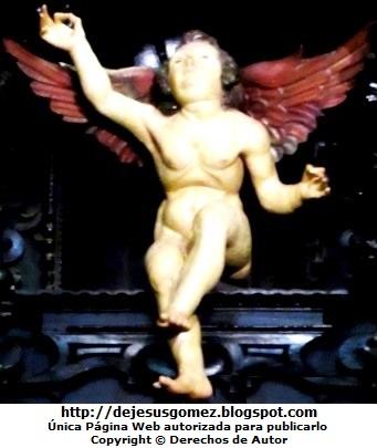 Foto de un ángel en la Catedral de Lima tomada por Jesus Gómez