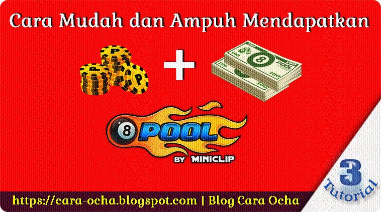 Cara Mudah dan Ampuh Mendapatkan Koin + Cash 8 Ball Pool Gratis! Server3
