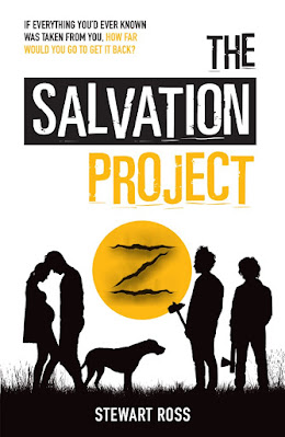 The Salvation Project by Stewart Ross book cover